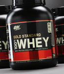 Optimum Nutrition - GOLD STANDARD  100% WHEY - 2.27kgs (76 serves) - SuppsAustralia.com.au