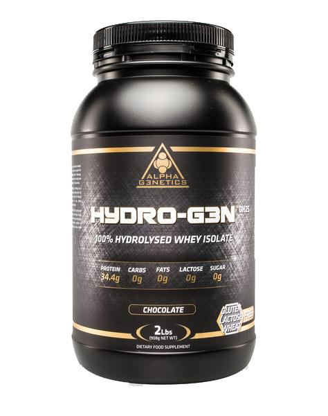 Alpha G3netics- 2lb Hydro-G3N DH25 (100% Hydrolysed Whey Isolate) - SuppsAustralia.com.au