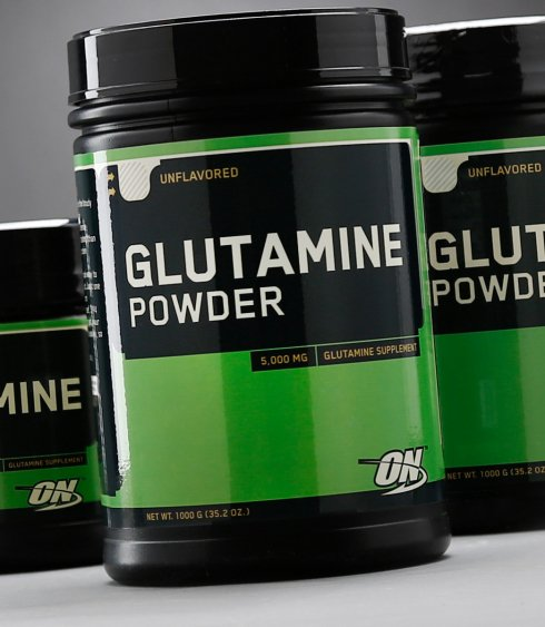 Optimum Nutrition - GLUTAMINE POWDER 600g - SuppsAustralia.com.au