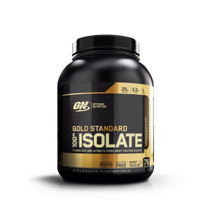 Optimum Nutrition - Gold Standard Isolate (74 serves) 2.27 Kgs - SuppsAustralia.com.au