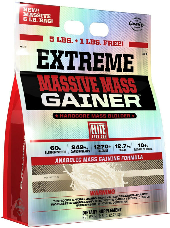 Elite Labs USA - Extreme Massive Mass gainer 2.27kgs