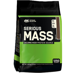 Optimum Nutrition - SERIOUS MASS 5.44 kgs - SuppsAustralia.com.au