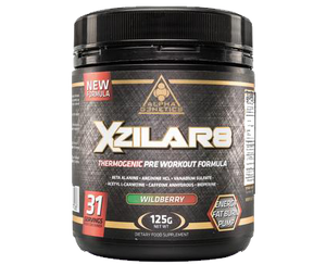 Alpha G3netics - XZILLAR8 (thermogenic) - SuppsAustralia.com.au