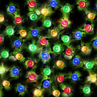 200 Multi-Colour LED Solar Fairy Lights - Dual Powered with USB