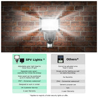 80 SMD Best LED Solar Powered Security Outdoor Light Waterproof