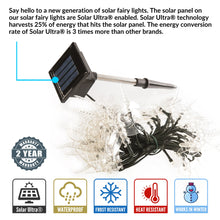 Load image into Gallery viewer, 50 Multi-Color LED Dragonfly Solar Fairy Lights Outdoor Waterproof