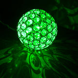 Solar Powered Crystal Ball Light - Colour Changing LED