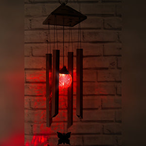 Solar Powered Wind Chimes Light - Colour Changing LED
