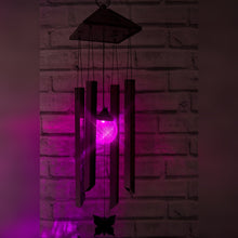 Load image into Gallery viewer, Solar Powered Wind Chimes Light - Colour Changing LED