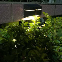 Metallic Solar Wall Light with PIR Sensor