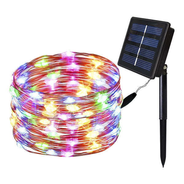 Solar Copper String Lights