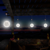 Solar Crystal Ball Light - Warm White LED