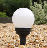 2-in-1 Small Solar Wall & Ground Lights (Set of 2)