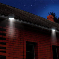 Solar Gutter Lights (Set of 2) - Black