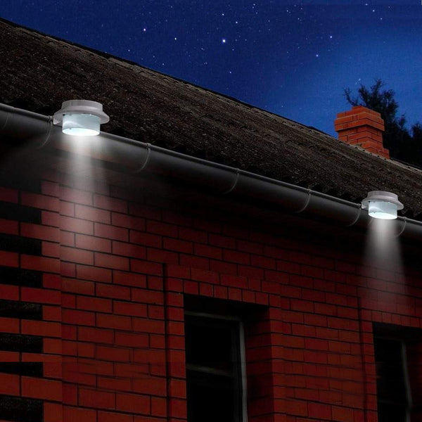 Solar Gutter Lights (Set of 2) - White