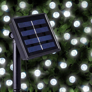 100 Solar Led String Lights Outdoor - LED Fairy Christmas Lights
