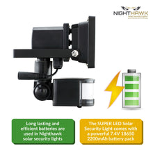 Load image into Gallery viewer, Super Bright LED Solar Security Light in Black Outdoor LED Bulb