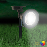 Halo - Premium Solar Spotlight with 7 Colour Changing LEDs