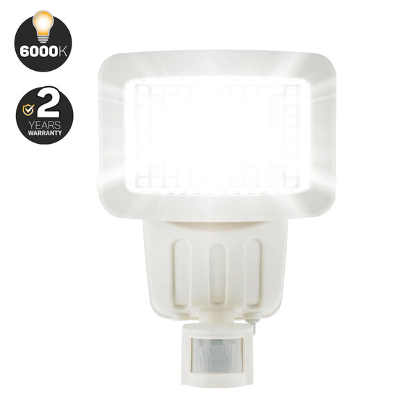 120 LED Solar Security Light (White)