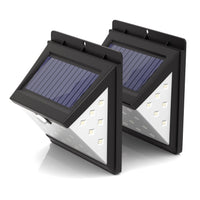 40 LED Solar Security Lights - Pack of 2