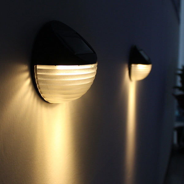 Solar Wall Lights (Set of 2)