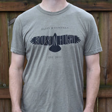 Men's Heather Olive Bourbon Flight T-Shirt Bourbon Flight