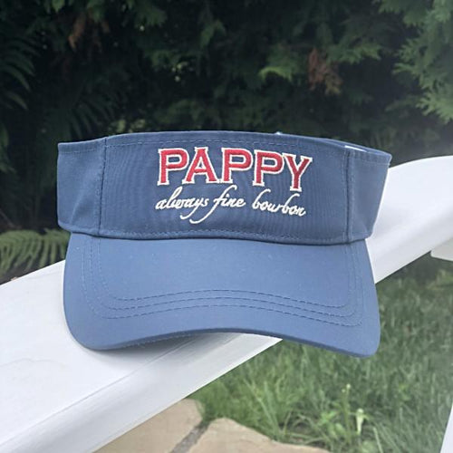 Pappy Always Fine Bourbon Performance Visor in Navy