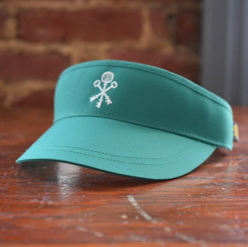 Pappy & Company Performance Visor in Green