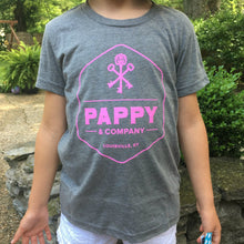 Kids' Grey Tri-blend T-shirt From Pappy & Company