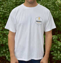 Pappy & Company White T-Shirt for Men Who Like Bourbon Drinks