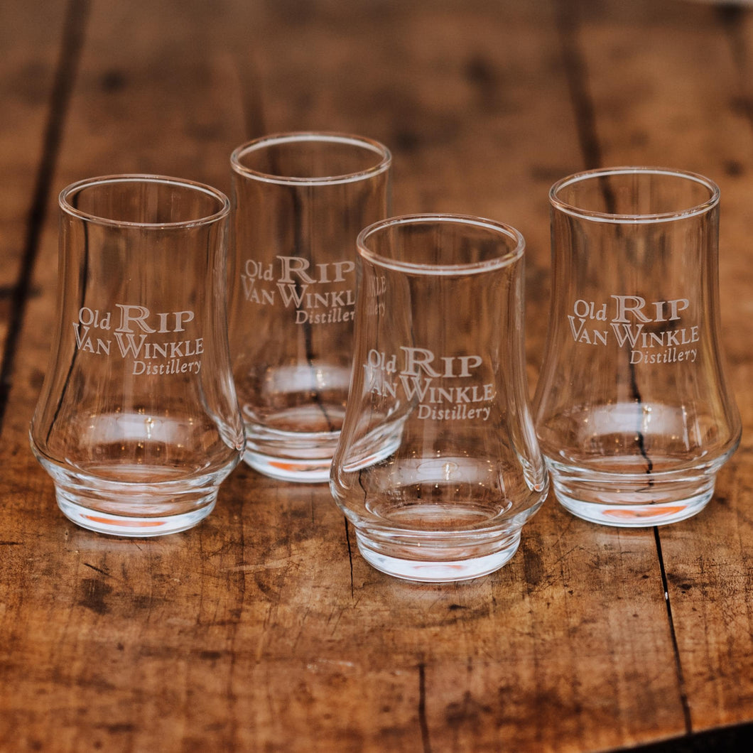 Old Rip Van Winkle Neat Tasting Glasses: Set of Four