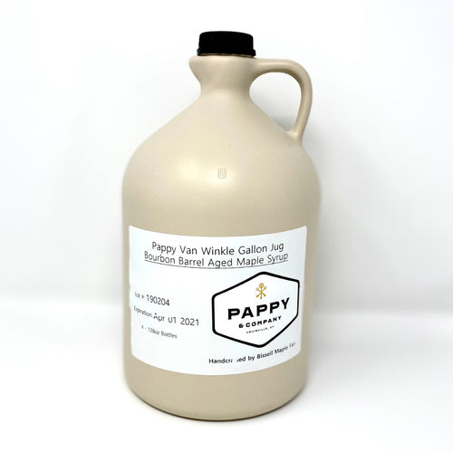 Pappy Van Winkle Bourbon Barrel-Aged Pure Maple Syrup: Gallon Jug (128 oz)