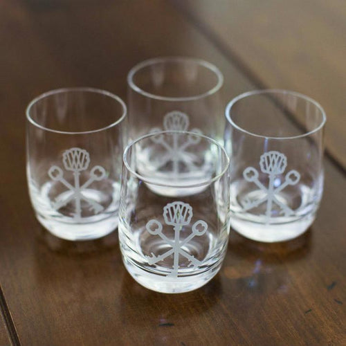 Crystal Rocks Glasses Set From Weinland Collection by Stölzle