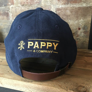 Adjustable Navy Pappy & Company Ball Cap