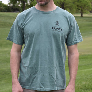 Soft Men's T-Shirt for Golfers and Bourbon Fans