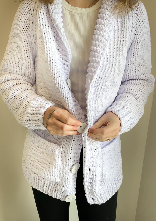 Jersey Classic Long Lake Girl Cardi