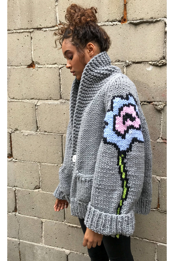 The Flower Cardi