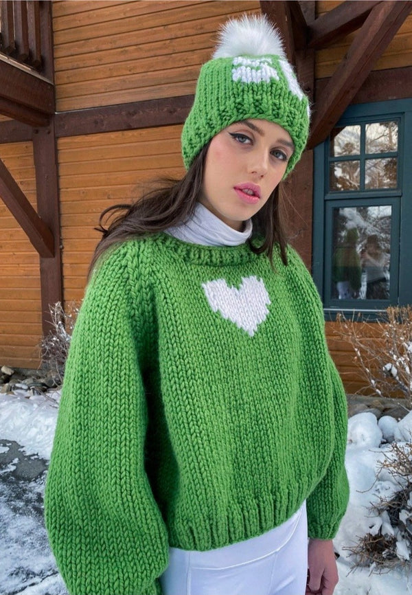 Cactus Heart Pullover