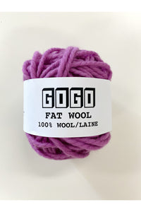 FAT WOOL - Orchid