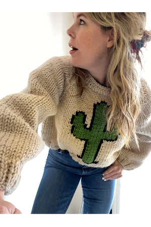 The Cactus Pullover