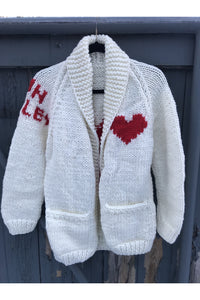 Sun Valley Long Heart Cardi