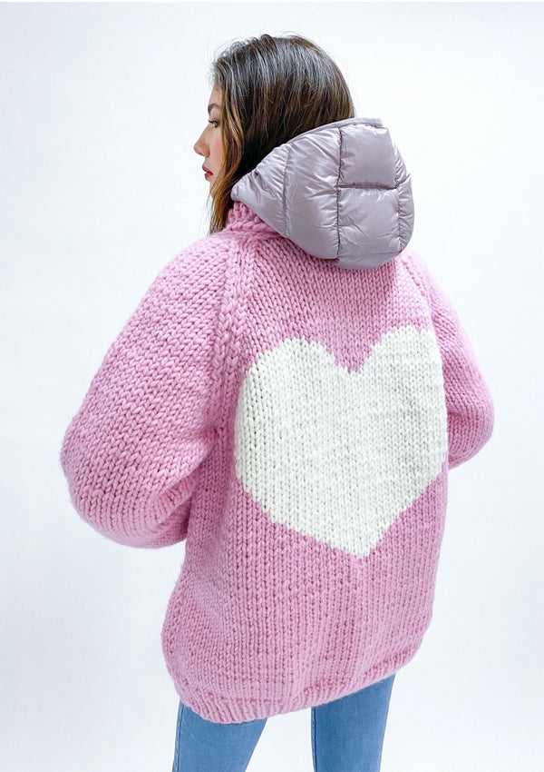 The Classic Long Heart Cardi
