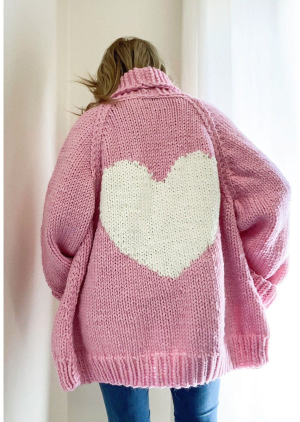 The Long Loose Heart Cardi