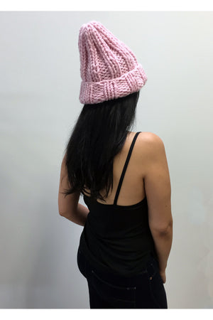 Pink Chunky Hat
