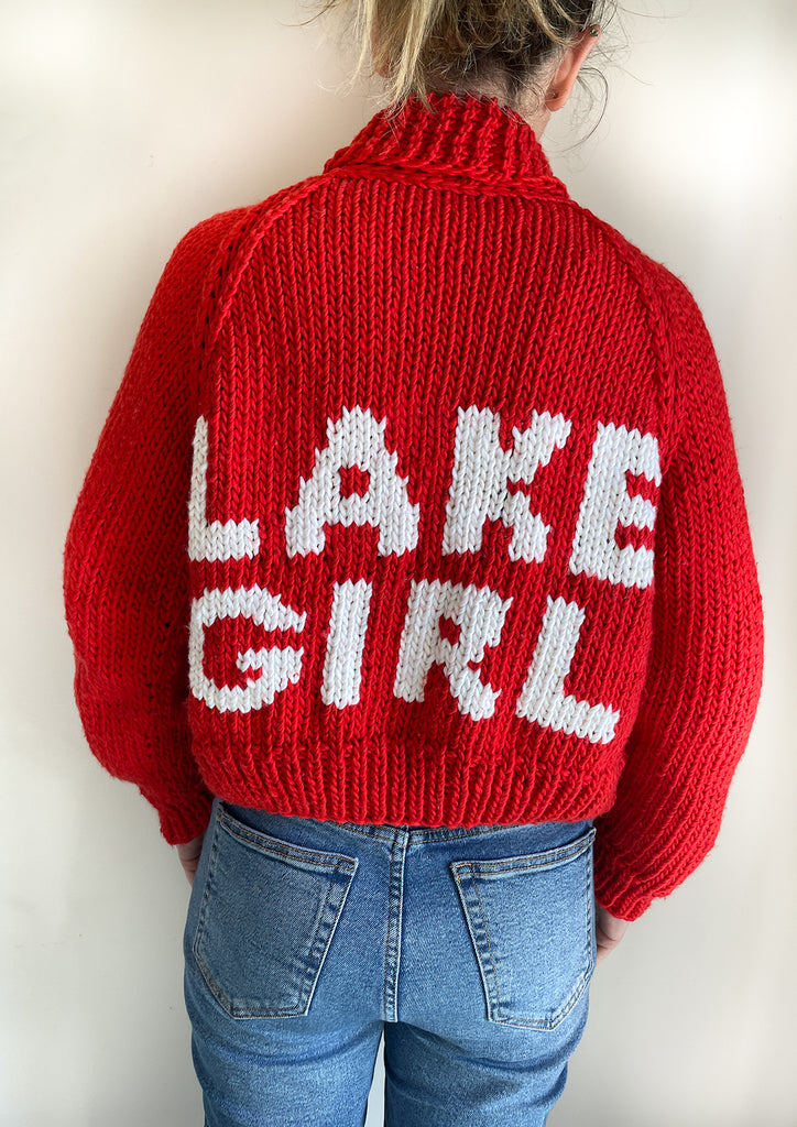 Classic Lake Girl Cardi in Cotton