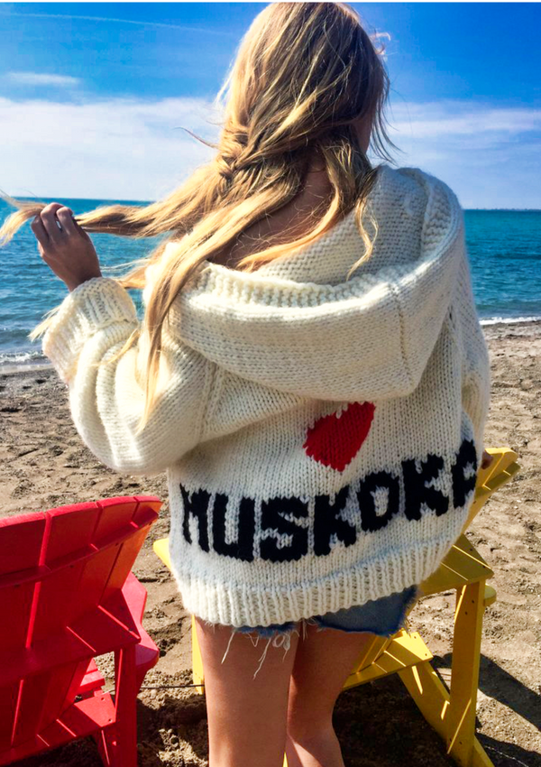 The Muskoka Hooded Cardi