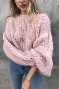The Alpaca-Sweaters-GOGO Sweaters-Dusty Pink-GOGO Sweaters