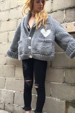 The Loose Heart Cardigan-Sweaters-GOGO Sweaters-GOGO Sweaters