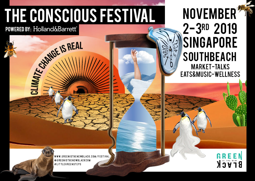 Green Is The New Black Presents 'The Conscious Festival' Here In Singapore
