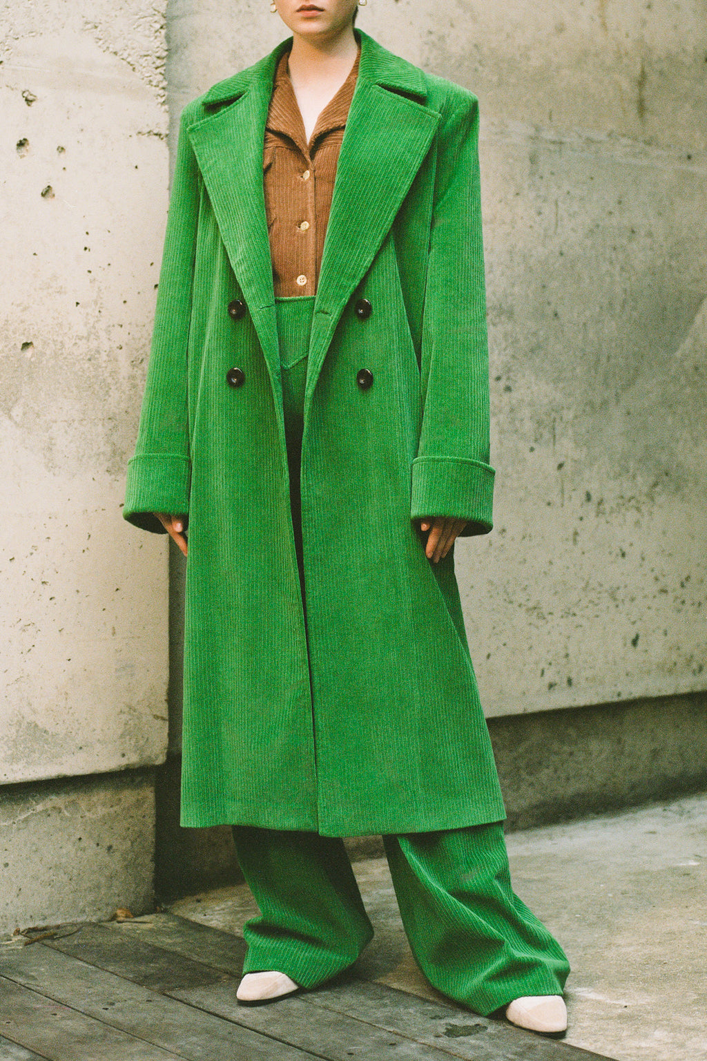 "The ""Maria"" Oversize Trenchcoat"